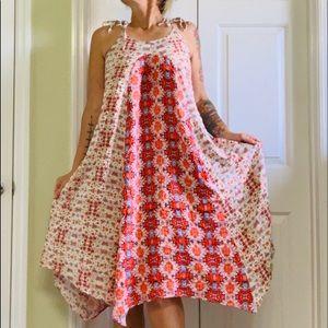 Nanette Lepore Handkerchief Midi Dress Size 4